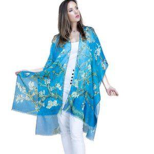 NEW Van Gogh Almond Blossom Museum Art Kimono